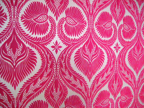 flocked velvet wallpaper