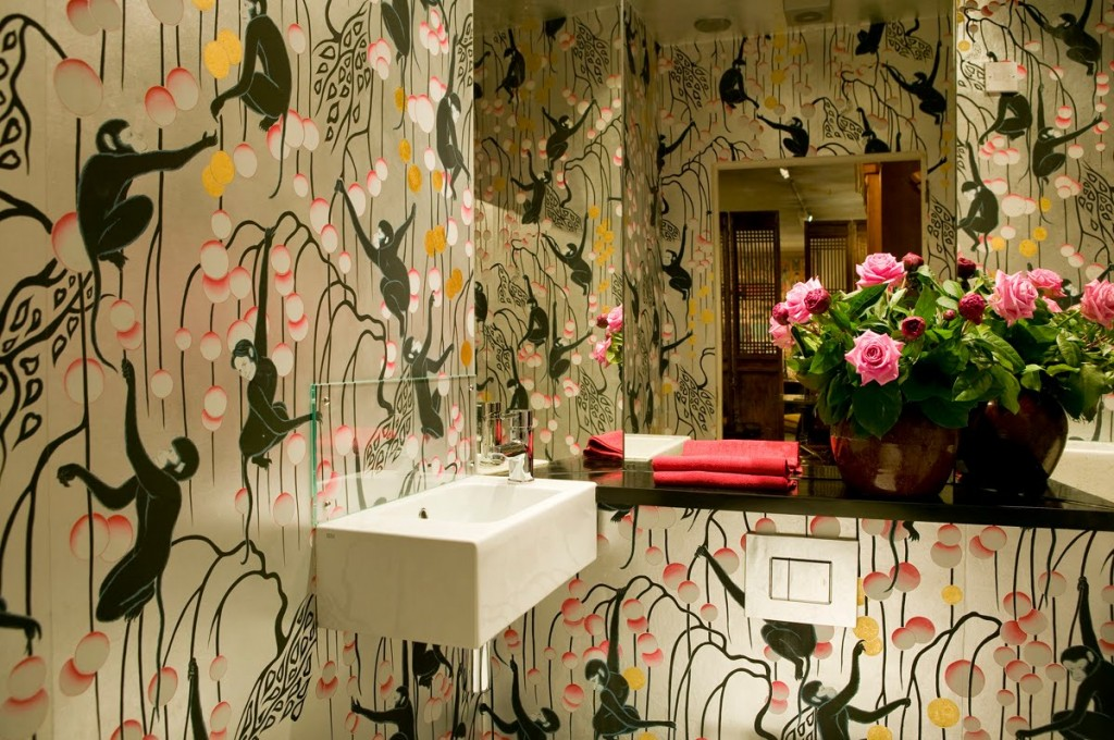 de Gournay hand-painted wallpaper