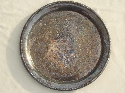 vintage-silver-plate-lot-of-round-trays-for-buffet-plates-or-serving-Laurel-Leaf-Farm-item-no-u102915-4